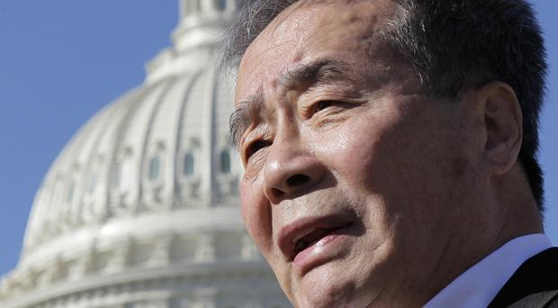 Chinese human rights campaigner Harry Wu, who has died aged 79 (AP)