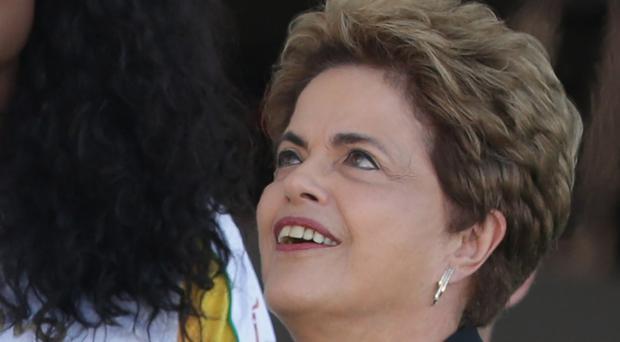 Brazil's president Dilma Rousseff is under pressure (AP)