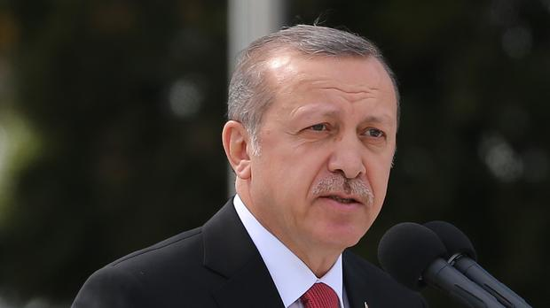 Turkish President Recep Tayyip Erdogan said 'We'll go our way, you go yours'