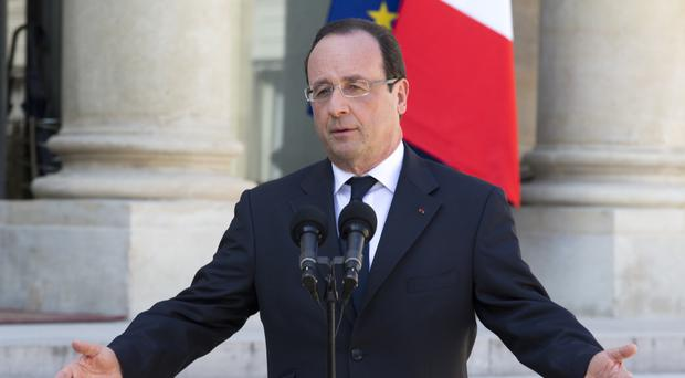 French President Francois Hollande is preparing the ground for a potential re-election bid (AP)
