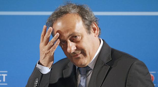 Michel Platini failed to overturn his ban (AP)