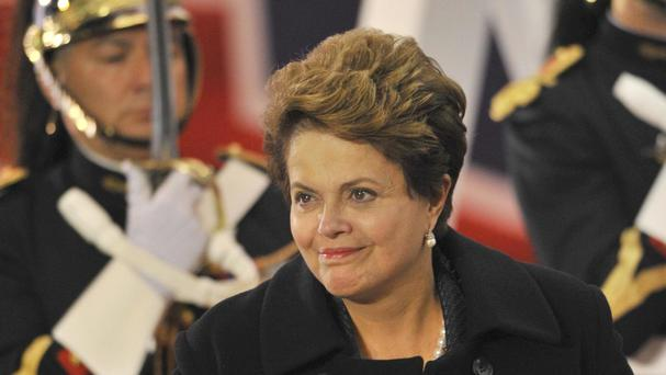 Brazil's President Dilma Rousseff is under fire