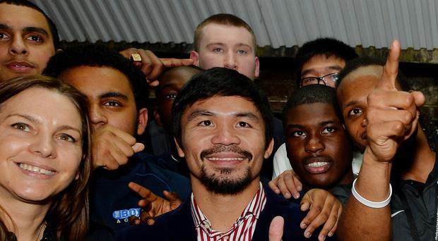 Boxing great Manny Pacquiao appears to have won a seat in the Philippine Senate, according to unofficial results