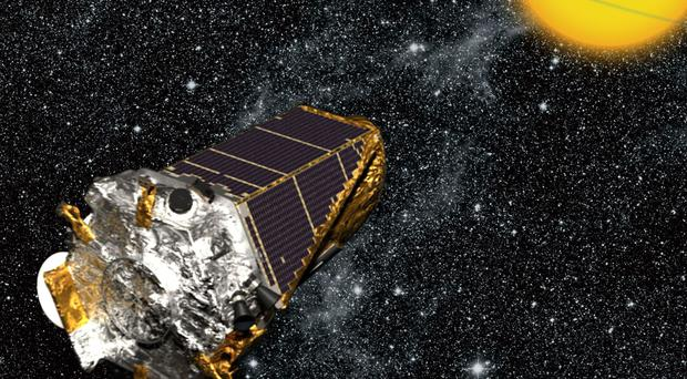 The Kepler Space Telescope was launched in 2009 (Nasa/PA)
