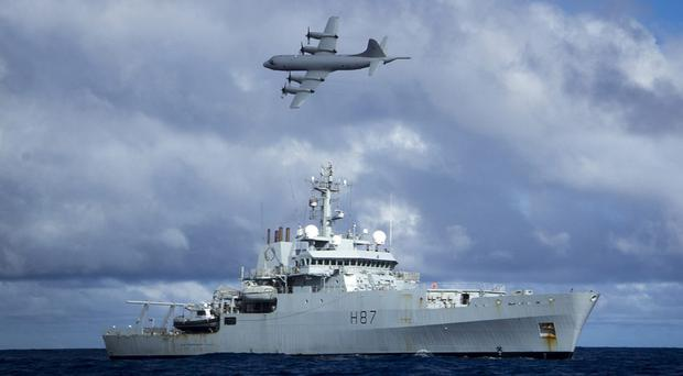 The search of the southern Indian Ocean for debris from the missing Malaysia Airlines flight MH370