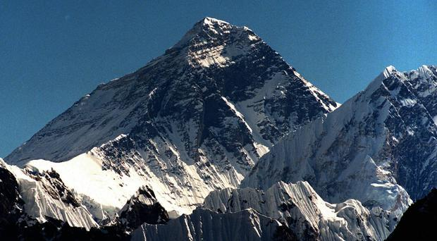 Six climbers reached the 29,035ft peak early on Thursday and are already heading to lower camps (AP)