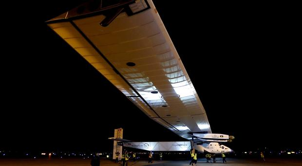 Solar Impulse 2 began its globe-circling trip last year (AP)