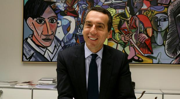 Christian Kern is to be nominated as chancellor (AP)