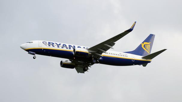 A Ryanair flight was evacuated due to a bomb scare