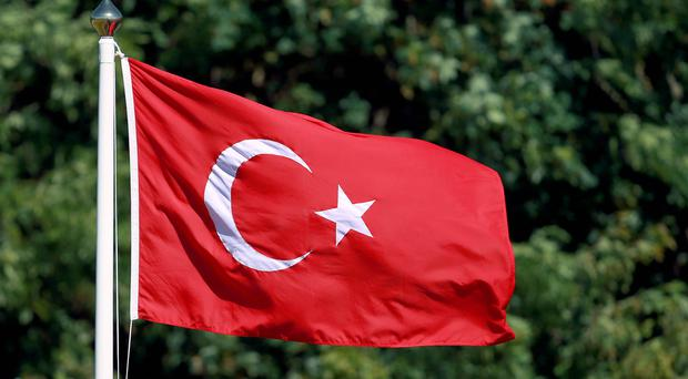 The home-made device exploded in Istanbul