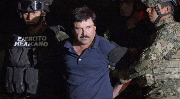The US wants to extradite Mexican drug lord Joaquin 'El Chapo' Guzman (AP)