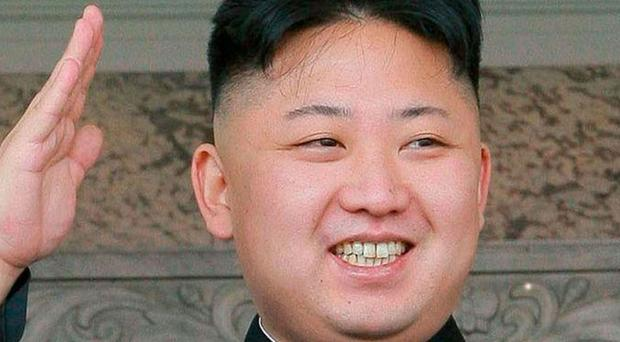 Donald Trump says he is willing to talk to North Korean leader Kim Jong Un, pictured