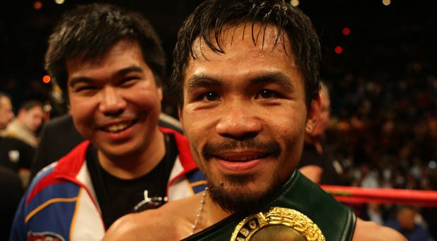 Manny Pacquiao has indicated in the past he would consider a run for the presidency