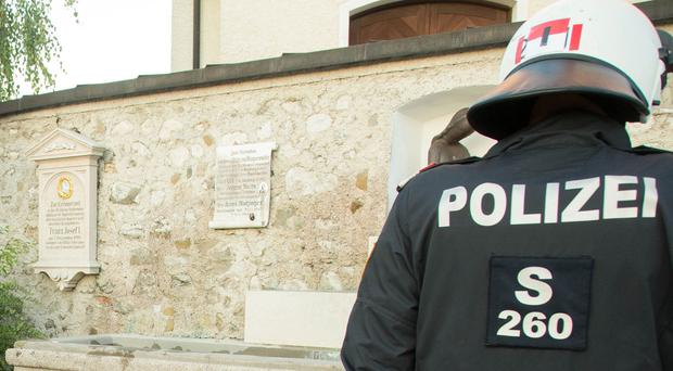 Austrian Police say two people were killed in a shooting attack in Nenzing