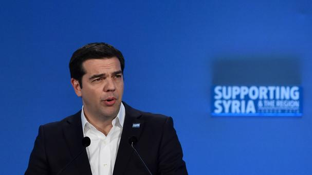 Alexis Tsipras is Greece's prime minister