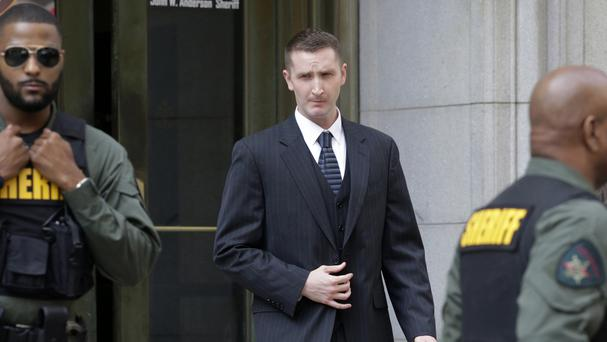 Officer Edward Nero was acquitted of all charges in his trial in Baltimore (AP)