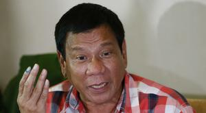 Mayor Rodrigo Duterte has won the official count (AP)