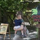 Gorilla World at Cincinnati Zoo remains closed following the incident (AP)