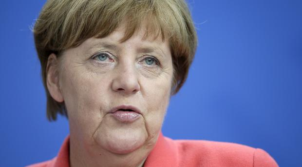 German Chancellor Angela Merkel has said she wants the UK to remain in the EU (AP)