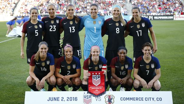 A federal judge said the US women's team currently does not have the right to strike (AP)