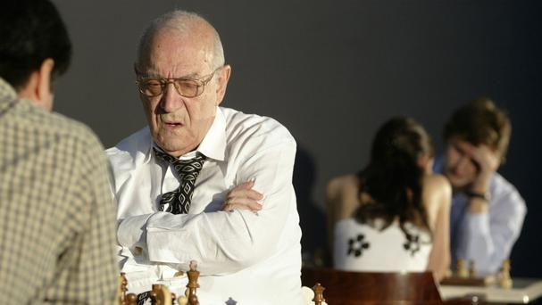Chess master Victor Korchnoi has died aged 85 (AP)