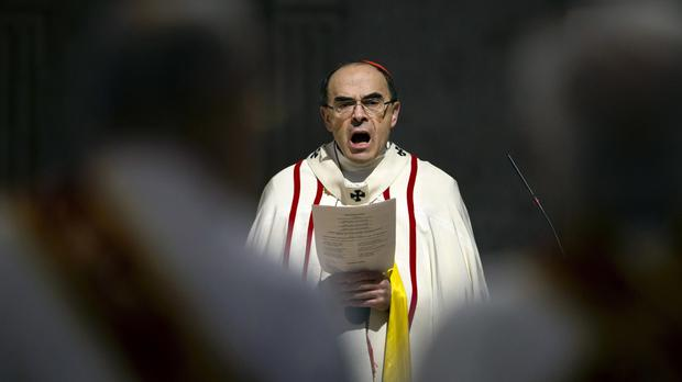 French Cardinal Philippe Barbarin (AP)