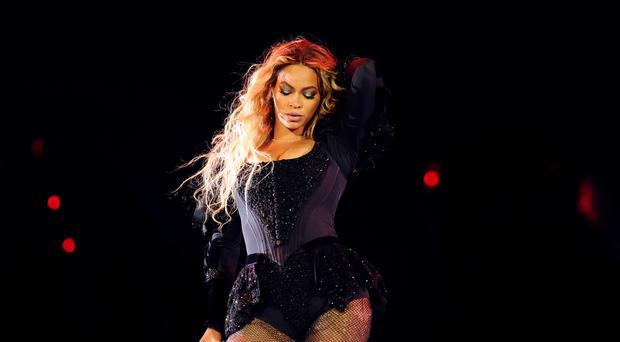Beyonce performs during the Formation World Tour in New York (AP)