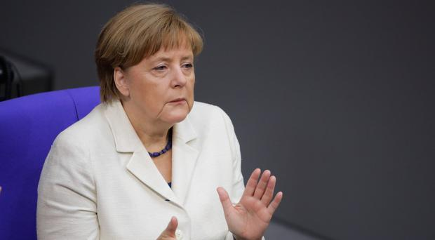 Angela Merkel said the UK remaining in the European Union