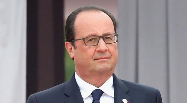 French President Francois Hollande has ratified the Paris Agreement on climate change