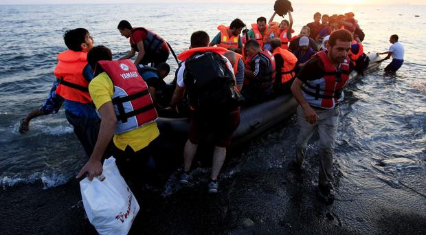 More than 3,400 migrants died or were recorded as missing as they tried to cross borders this year, the IOM said