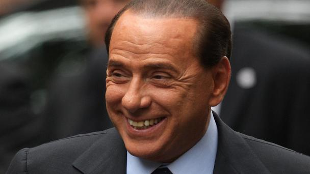 Silvio Berlusconi was admitted to hospital in Milan suffering from a heart-valve problem