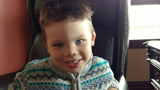 Two-year-old Lane Graves's body was recovered on Wednesday (Orange County Sheriff's Office/PA)