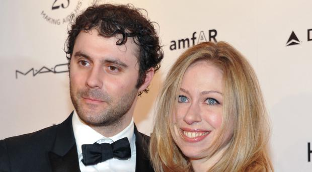 Chelsea Clinton and husband Marc Mezvinsky have welcomed their second child (AP)