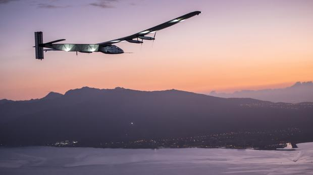 Solar Impulse 2 is flying around the world