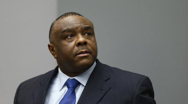 Jean-Pierre Bemba has been sentenced to 18 years in prison (AP)