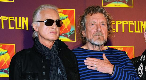 Page and Plant are credited with writing the 1971 classic Stairway To Heaven