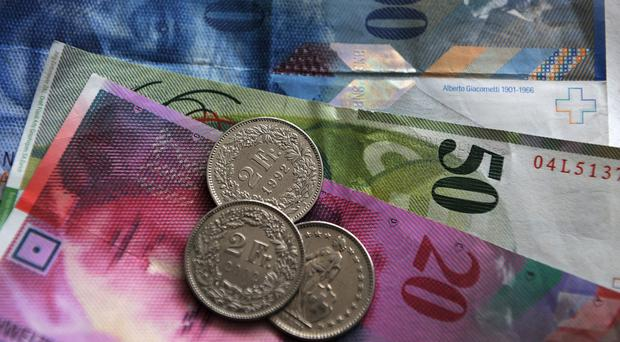 The Swiss National Bank has intervened in currency markets after the franc came under pressure