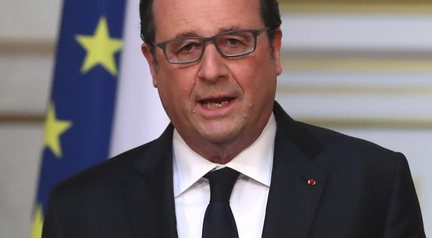 French president Francois Hollande said the Brexit vote posed questions for the whole planet (AP)