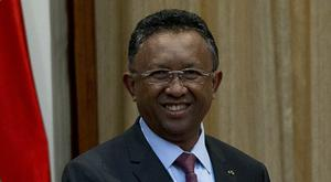 Madagascar president Hery Rajaonarimampianina is believed to have visited some of the injured in hospital (AP)
