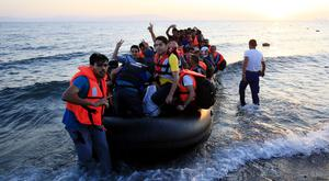 Hundreds of thousands of migrants have been arriving in Europe