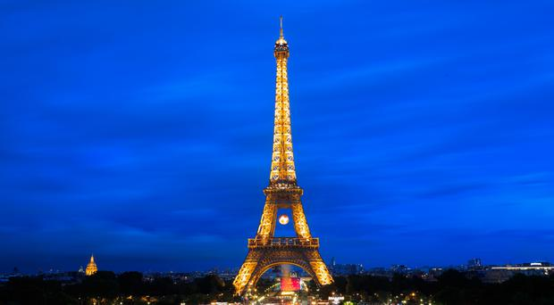 The Eiffel Tower in Paris is closed as staff take part in nationwide strike action