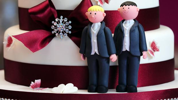 Same-sex marriage has overwhelming support in Northern Ireland, a pressure group has said after the release of a new survey. File image
