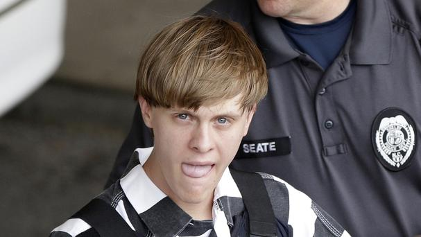 Dylann Roof is currently jailed pending death penalty trials in both state and federal court (AP)