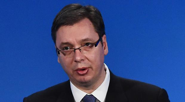 Serbian prime minister Aleksandar Vucic said the EU talks could continue in July or September