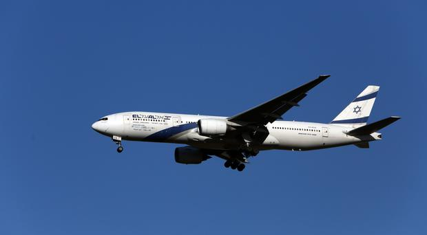 The El Al Israel Airlines flight has landed safely