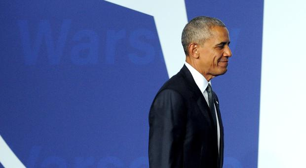 President Barack Obama is cutting short a trip to Europe following the Dallas shootings (AP)