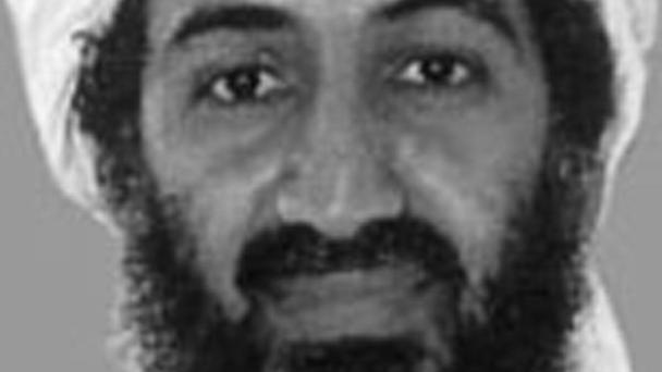 Osama bin Laden was killed in a helicopter raid on his refuge in Pakistan (FBI/PA)