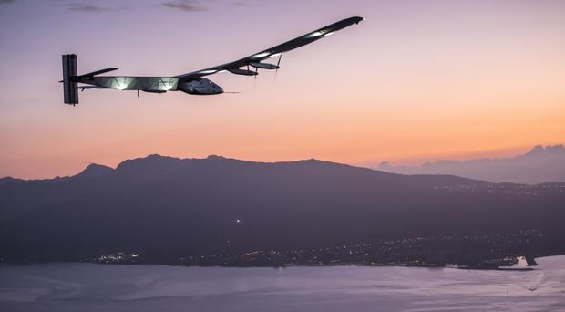 Solar Impulse 2 is heading for Cairo in Egypt after taking off from Seville in Spain