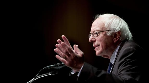 Bernie Sanders has endorsed Mrs Clinton's tilt for the White House (AP)