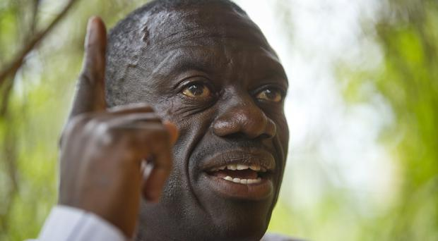 Kizza Besigye had been charged with treason (AP)